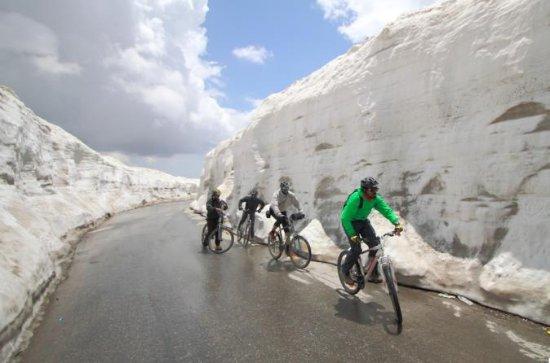 Expedición de ciclismo del Himalaya...