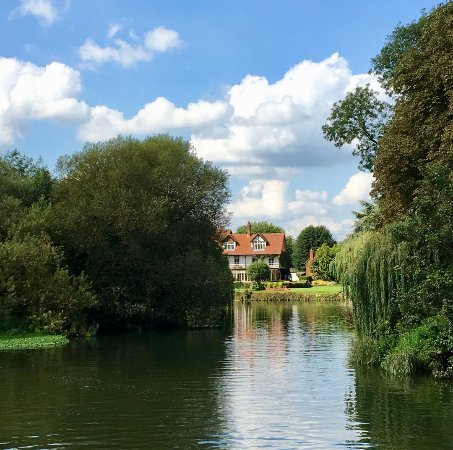 The Great House At Sonning: View across the River