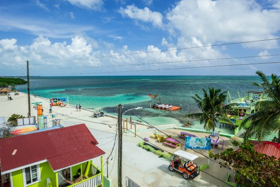 Caye Caulker Condos: view from rooftop terrace