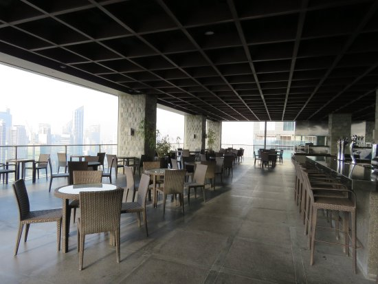Rooftop Bar And Restaurant Picture Of City Garden Grand Hotel