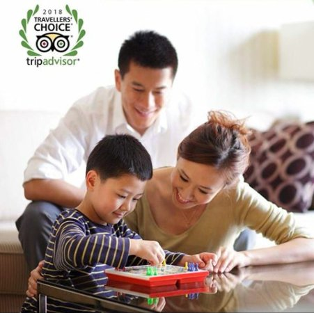 Ascott Makati: Top 1 out of 25 Hotels for families. Travellers Choice Award.