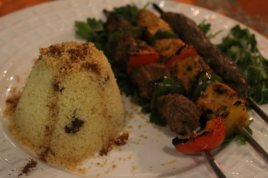 Riad Andalib : Mixture of brochettes