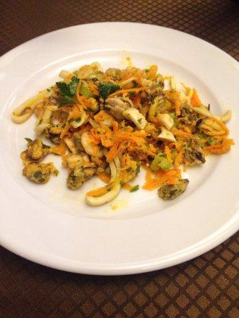 Da zio Pino : Салат из морепродуктов