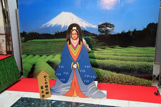 Fuji, Japonya: Backdrop for fun photos