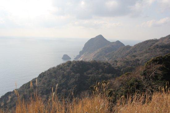 Minamiizu-cho, Japón: 波勝崎側の風景