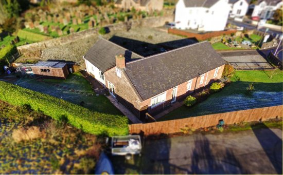 Alexander House: Drone view of whole B&B