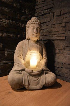 Épinay-sur-Orge, France : Bouddha.