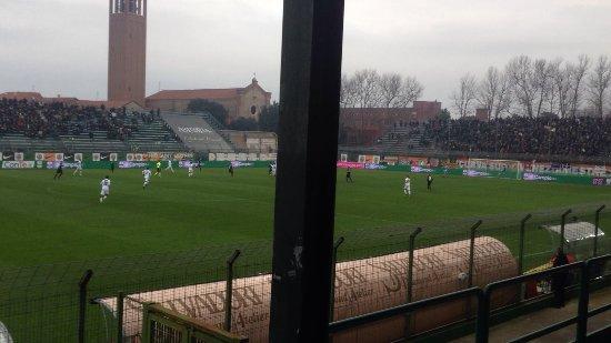Stadio Pier Luigi Penzo: Come si vede la partita dalla tribuna