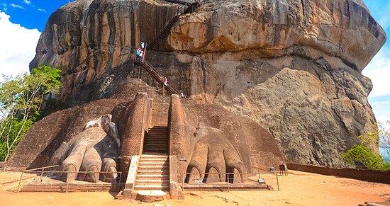 Bandarawela, Sri Lanka: Lions Rock - Sigiriya in Sri Lanka