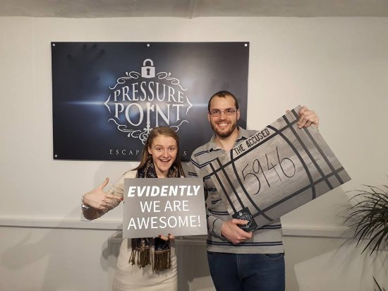 Pressure Point Escape Rooms