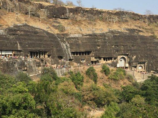 Ajanta Caves: Caves