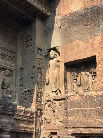 Ajanta Caves: Art Work on Walls