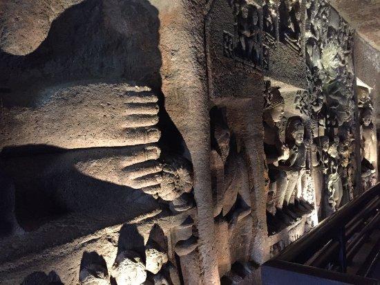 Ajanta Caves: Inside art work