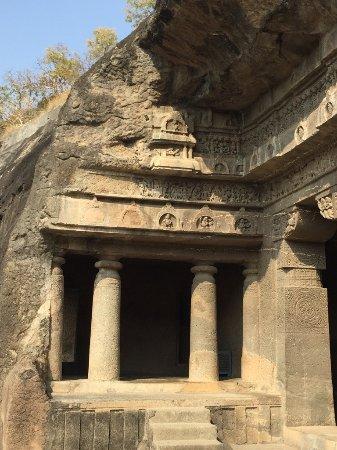Ajanta Caves: Front