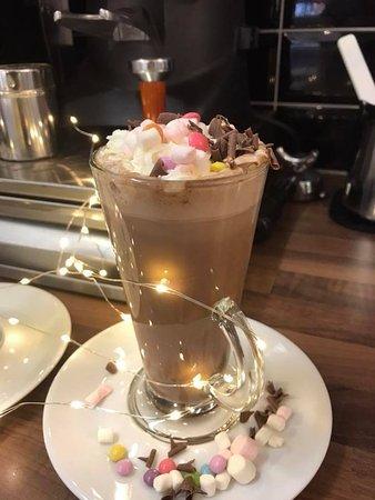 Up the Junxion Hot Chocolate