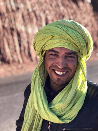 Marrakech, Morocco: Our incredibly helpful guide Mohammed