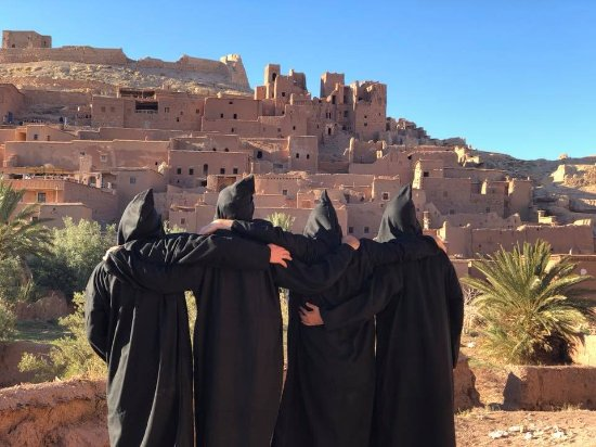 Marrakech, Morocco: The kasbah of Aït Benhaddou. The filming location of Game of Thrones and Gladiator!