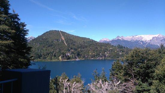 Aldebaran Hotel & Spa: Vista al Cerro Campanario desde del balcón de la habitación