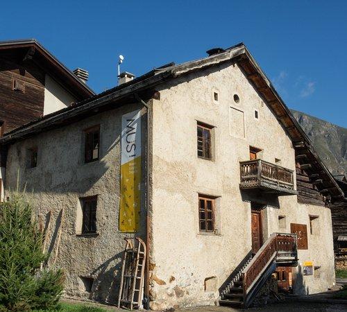 Livigno, إيطاليا: Esterno del museo