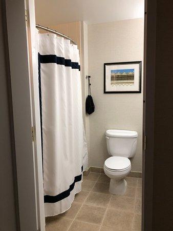 Guest room bathroom on 5th floor