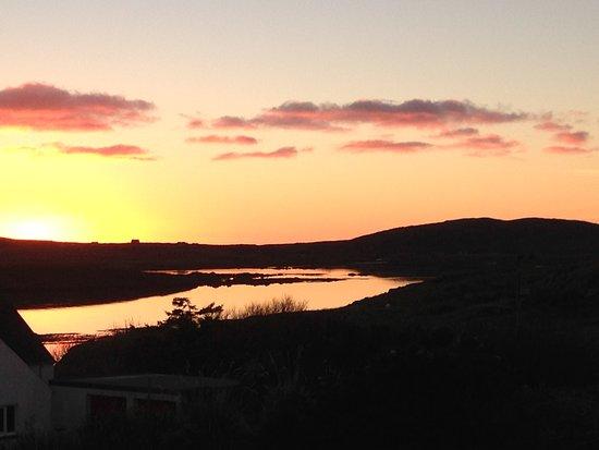 Lochboisdale, UK : Sunset