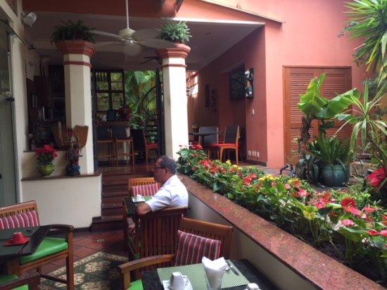 Hotel Casa do Amarelindo: restaurant au calme