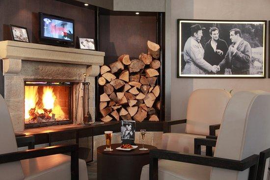 Hotel La Jamagne: Bar les Grandes Gueules