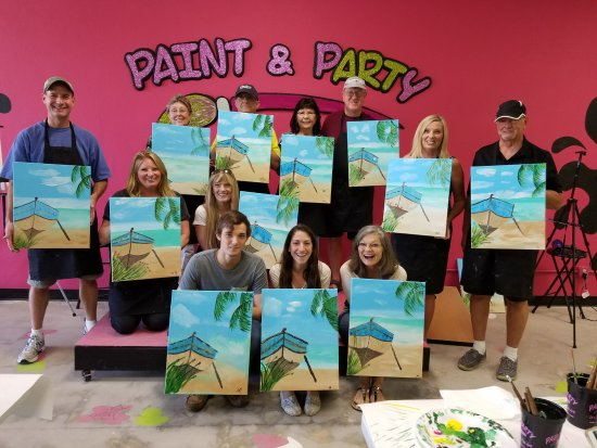 Nokomis, Floride : Great memories made at Paint & Party!