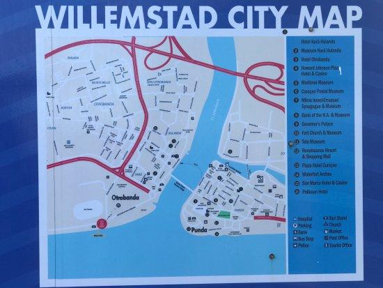 Area Map Picture of Iguana Cafe Willemstad TripAdvisor