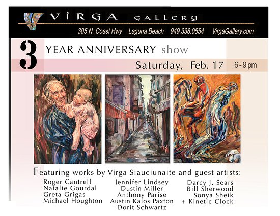 Virga Gallery: You're invited - hoping to see you there!