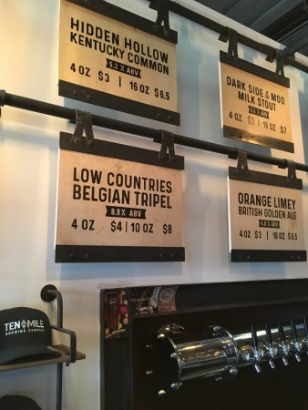 Signal Hill, Kalifornien: 7 Low Countries Belgian Triple at 8.9% one is enought before calling and Uber
