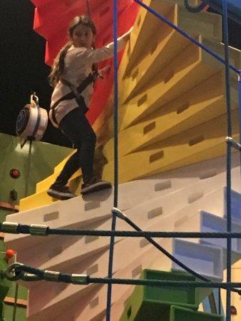 Wahooz Family Fun Zone: Wall climb