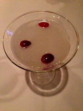 Bonefish Grill - Skokie: The Winter White Cosmopolitan