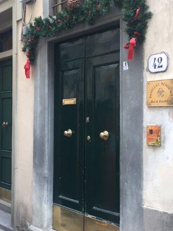 Panella's Residences entrance!