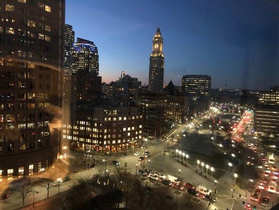 Boston Harbor Hotel: City view