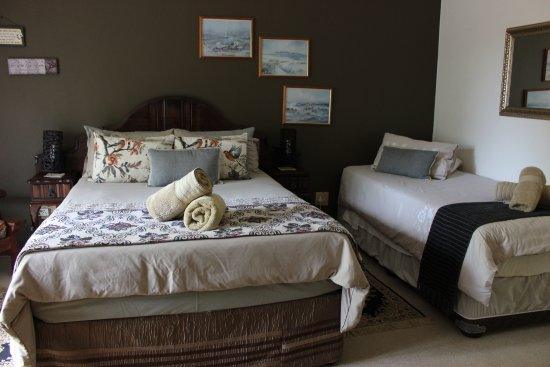 Potchefstroom, Νότια Αφρική: Butterfly: Family room, full en-suite bathroom, DSTV, A/C, free wifi, fridge, coffee/tea facilit