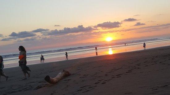 Playa Bejuco, Κόστα Ρίκα: Solnedgang over Stillehavet
