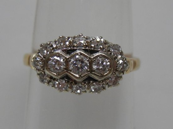 Baddeck, Canada: Art Deco Ring