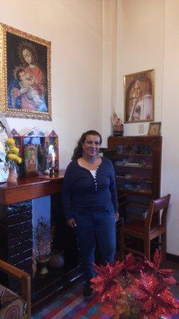 Hostal Santa Catalina: sala de estar