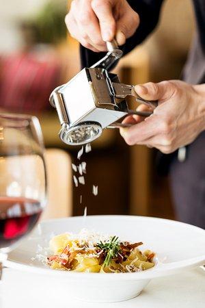 Kappel, Schweiz: Hausgemachte Pasta