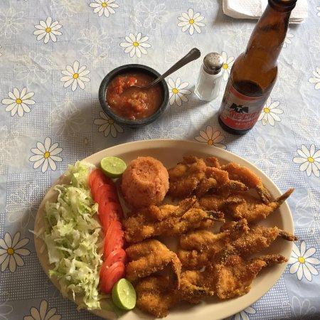 Adolfo Lopez Mateos, Mexico: Hermosos aterdeceres y excelentes platillos de marisco fresco para degustar !!