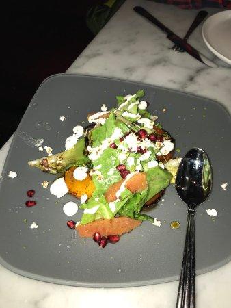 The Purple Pig: Butternut squash salad