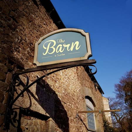 The Barn: Sign