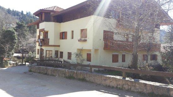 Hotel Las Cascadas: El hotel por fuera