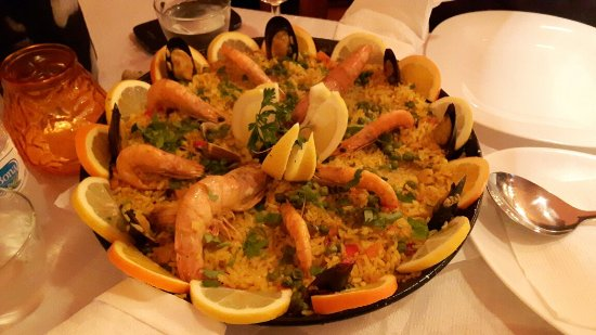 El Faro Bar-Restaurante: Paella. Heerlijk!
