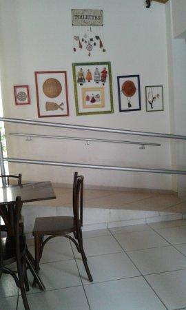 Caicó, RN: Decoração da padaria.