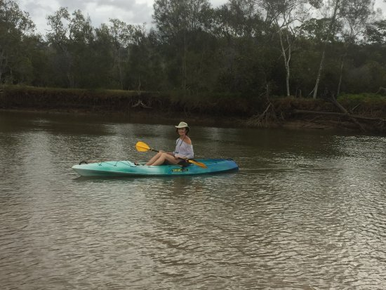 Tallebudgera, Australia: Kayaking on Tellebudgera Creek