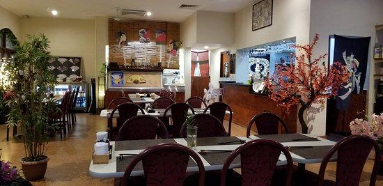 Goong Korean & Japanese Restaurant: Inside