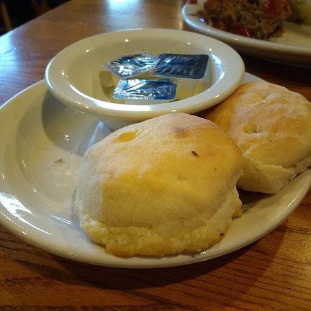 Cracker Barrel: Oh, those biscuits!