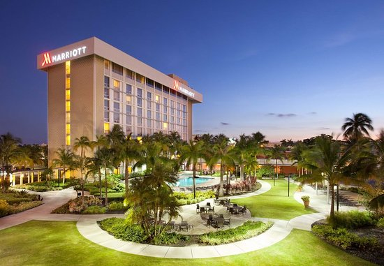Miami Airport Marriott: Stay near MIA and receive free shuttle